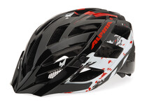 Alpina Panoma Helm black/white/red